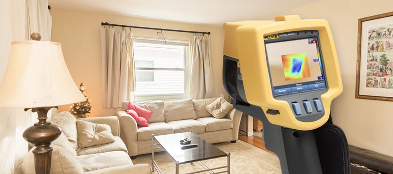 Get a thermal (infrared) home inspection from Shoreline Property Inspections
